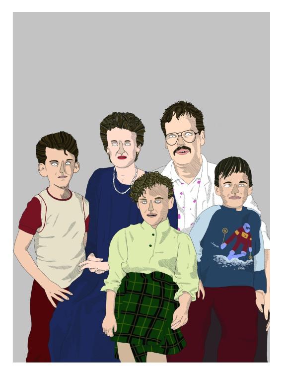 portrait famille 5